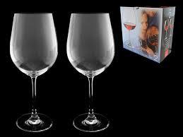 """Набор <b>бокалов для вина</b> """"Magnum"""", 2 шт., <b>610</b> мл, стекло, Rona"""