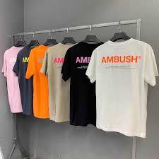 AMBUSH T shirt Wen 1:1 <b>high Quality Solid</b> 8 <b>colour</b> black white ...