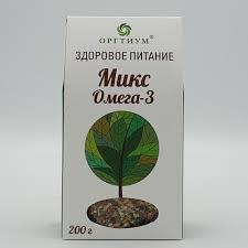 <b>Микс</b> Омега-3 <b>ОРГТИУМ</b>, 200 гр
