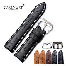 <b>CARLYWET 22 24mm</b> Wholesale Real Leather Handmade Thick ...