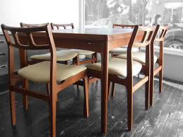 Teak Dining Room Chairs White Saddle Mixed Light Brown Wooden Table Some Armed Wicker