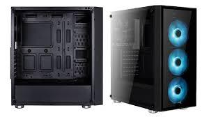 <b>Корпус AeroCool Quartz</b> Pro с панелями из закаленного стекла и ...