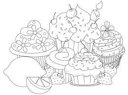 Small Picture cupcakes drawing Pesquisa Google Riscos Para Pintura Em Tecido