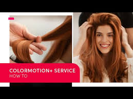How to do a <b>Wella</b> ColorMotion+<b>Service</b> during Coloring   <b>Wella</b> ...