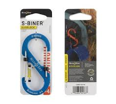 <b>Карабин</b> с блокировкой <b>Nite Ize</b> «S-Biner SlideLock Aluminum ...