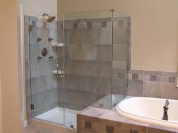 bathroom without tub