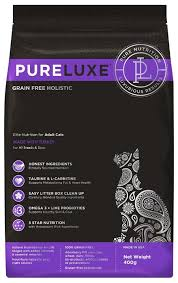 <b>Корм</b> для кошек <b>PureLuxe</b> беззерновой, с индейкой — купить по ...