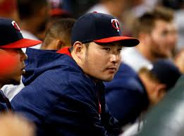 Twins designate South Korean slugger Byung Ho Park Pioneer Press Minnesota Twins      Byung Ho Park  of South Korea  watches teammates during the eighth