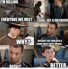 Walking Dead Snickers Meme | WeKnowMemes via Relatably.com