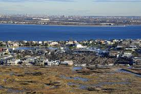 u s department of defense photo essay this is an aerial view of storm and fire damage after hurricane sandy along the coast