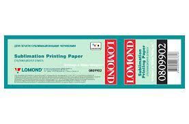 <b>Сублимационная бумага LOMOND</b> (100г/м2), рулон 100m купить ...