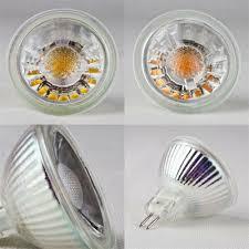Gu10 <b>LED Glass</b> Illuminant <b>Mr16 5w</b> Cob High Power LEDs Bulb ...