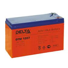 Купить аккумуляторную <b>батарею Delta DTM</b> 1207 в интернет ...