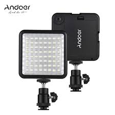 Andoer <b>WY 64</b> 64pcs <b>Mini</b> LED Light Panel 5W LED Video Lamp ...