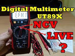 Цифровий <b>мультиметр UNI-T UT89X</b> - YouTube