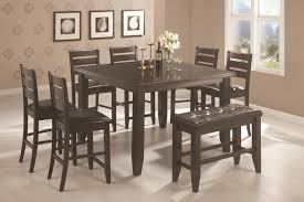 dining room pub style sets: coaster page contemporary rectangular semi formal dining table coaster fine furniture