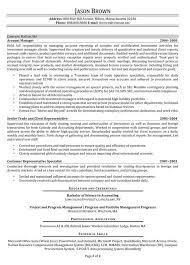 resume entry level finance  seangarrette coresume