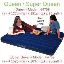 <b>INTEX</b> Inflatable Air Bed (Super Queen), Furniture, Beds ...