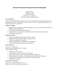career objective for hr resume template career objective for hr resume
