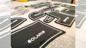 <b>Коврики в салонные ниши</b> для hyundai Solaris 2011-2 купить в ...