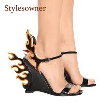 11.11_Double ... - Buy flame heel and get free shipping on AliExpress