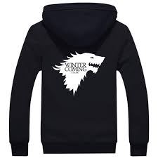 house jacket reviews online shopping house jacket reviews on 2016 a song of ice and fire zip hoody game of thrones black hooded jacket house stark thick coats unisex plush sweater hoodie
