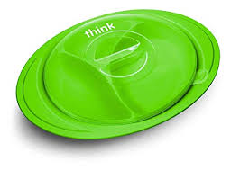 Buy <b>thinkbaby ThinkSaucer Suction</b> Plate, Green Online at Low ...