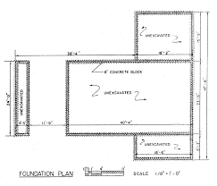 Free Ranch Style House Plans   Bedrooms   Ranch Style Floor PlanRanch Style House Foundation Plan