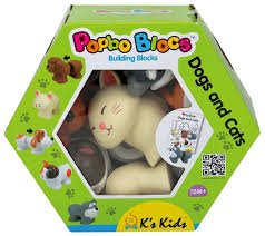 Купить <b>Конструктор</b> K&#39;<b>s Kids</b> Popbo Blocks KA770 Котики и ...