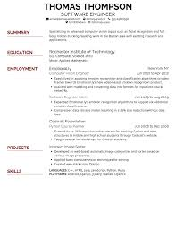 font for resumes template font for resumes