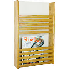 magazine rack wall mount: full size of furniture attractive wall mounted magazine rack yellow oak finish wood material