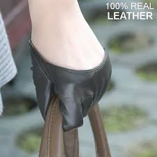 <b>New</b> Style Women's 100% <b>Genuine Leather Semi</b>-Palm <b>Finger</b> ...