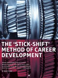 the stick shift method of career development forefront magazine melanie haratunian featured