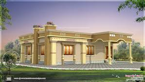 Small South Indian Home design   Kerala home design and floor plansTamilnadu model house