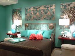 Turquoise Bedroom Charming Brown And Turquoise Bedroom 91 In Home Decorating Ideas