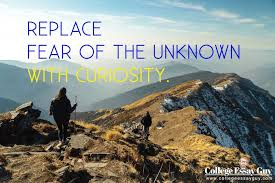 curiosity college essay   essay college essay guy on twitter quot replace fear of the unknown with curiosity s t co vygblhv