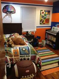 sports bedroom ideas football theme blue sports inspired bedroom ideas for boys rilane