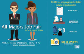 all majors job fair spring university career center ttu all majors job fair put your degree to work 5th sub ballroom 12pm to 4pm