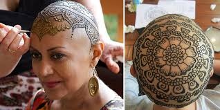 Elegant <b>Henna</b> Tattoo Crowns Help Cancer Patients Cope With ...