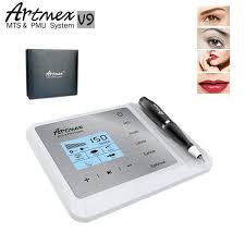 Artmex V9 <b>New</b> Model Digital <b>Eyebrow Lip Eyeline</b> MTS / PMU ...
