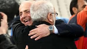 Αποτέλεσμα εικόνας για αγκαλιές Ιβάν Σαββίδη με Αλαφούζο photos