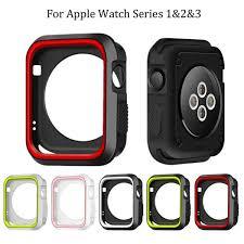 <b>Fashion Dual Colors</b> Soft <b>Silicone</b> Nk Case Bumper For Apple ...
