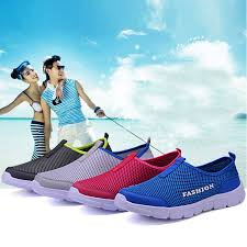 Women <b>Summer Breathable Net Shoes</b> Comfortable Knit Mesh ...