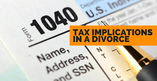 Image result for taxes and divorce