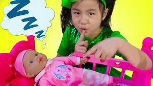Jannie Pretend Play Babysit <b>Cute</b> Cry <b>Baby</b> Doll <b>Kids</b> Toys for <b>Girls</b> ...
