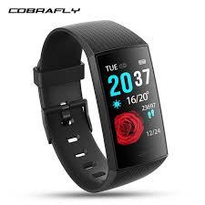 <b>Cobrafly</b> W8 <b>smart watch</b> blood pressure fitness tracker watch heart ...