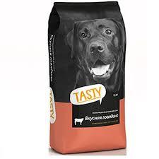 Корм <b>Tasty для взрослых собак</b> (Говядина) 15кг. (Дания) купить с ...