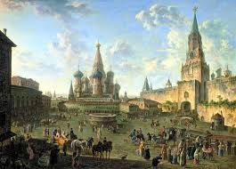 tips for reading war and peace getting started leo tolstoy a backdrop to envisage war and peace scene in red square moscow 1801 oil on canvas by fedor yakovlevich alekseev