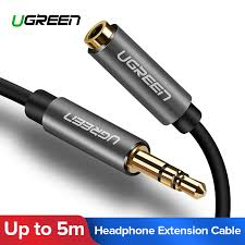 <b>Ugreen 3.5mm</b> Extension <b>Audio Cable</b> Male to Female <b>Aux Cable</b> ...