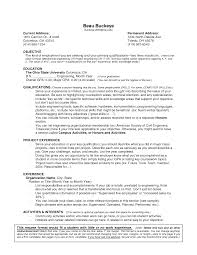 doc 12751650 sample resume objective summer job bizdoska com 12751650 sample resume objective summer job